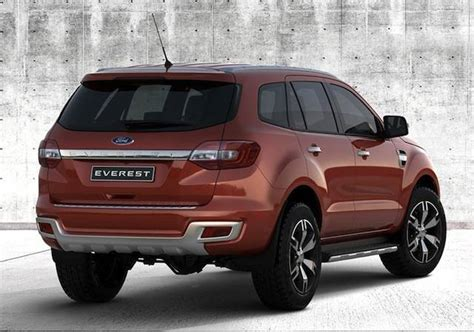 ford reveals the next generation 2015 everest auto news