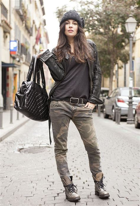 Outfits With Combat Boots Ideas How Wear Shoes