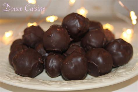 chocolat cuisine truffes au chocolat noir menthe douce cuisine