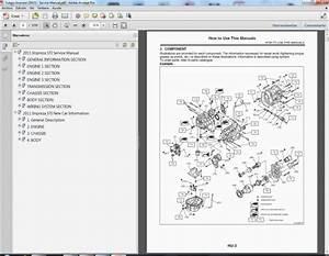 Subaru Impreza  2008-2011  - Service Manual