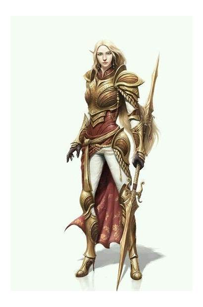 Character Dnd Elf Female Concept Characters Leader