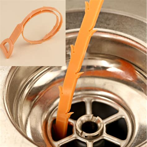 pc toilet cleaning hook drain cleaner unclog sink tub