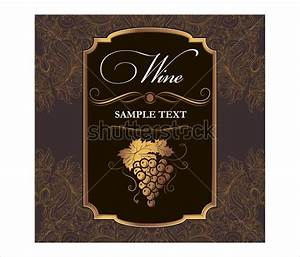 free wine label template beepmunk With design wine labels online free