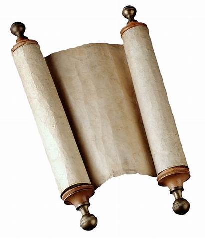 Scroll Scrolls Ancient Bible Clipart Medieval Crafts