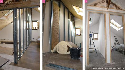 chambre sous pente de toit aménagement combles chambre sous les toits maison créative