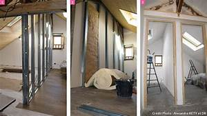 Amenagement combles chambre sous les toits maison creative for Deco chambre enfant avec subvention travaux isolation fenetre