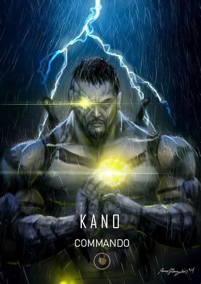 Kombat Mortal Kano Commando Fanart Grapiqkad Deviantart