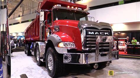 mack granite gu axle  twin steer dump truck