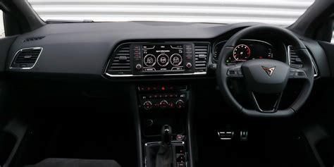 seat cupra ateca interior infotainment carwow
