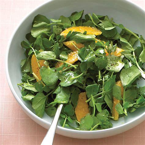 watercress and orange salad