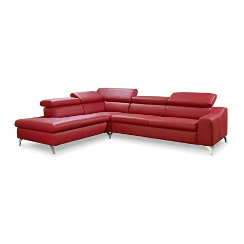 Musterring Stühle Leder by Musterring Ecksofa Mr 4775 Rot Leder Kaufen Bei Woonio