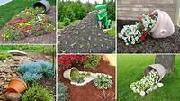 diy garden ideas 100 Most Beautiful Spilled Flower Pot ideas | DIY Garden ...