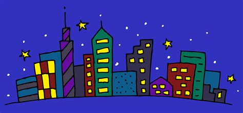 City Clip City Clipart Time Pencil And In Color City Clipart