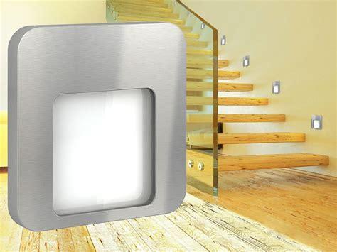 LED Wandeinbauleuchte DERO Edelstahl oder Graphit