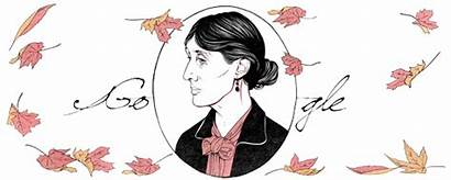 Woolf Google Virginia Birthday 136th Literary Doodle