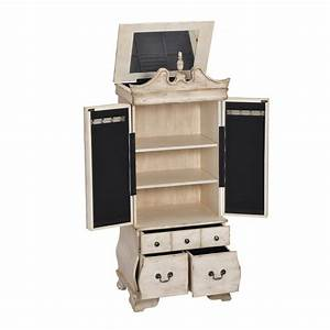 Home Decorators Collection Ivory Jewelry Armoire