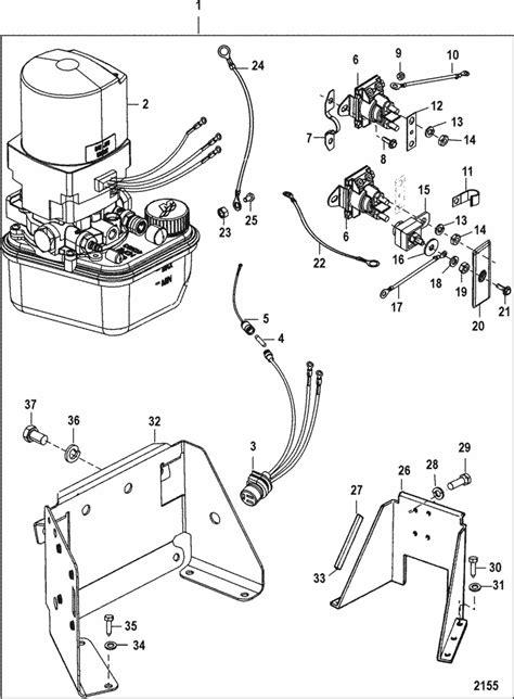 Mercruiser Trim Pump Wiring Diagram Images
