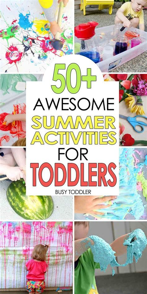 50 awesome summer activities for toddlers summer 378 | 3cd6c9c85d843869f688bbce9164c443