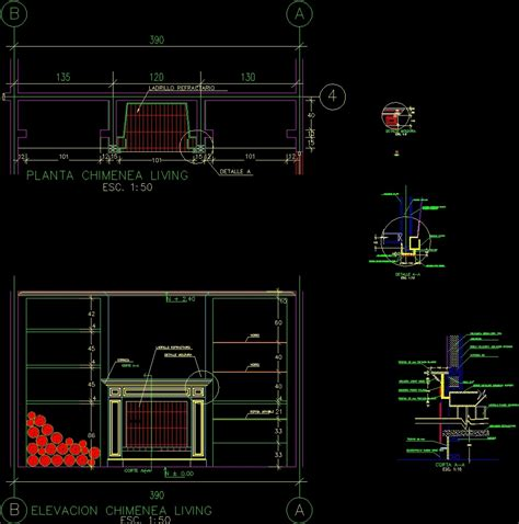 fireplace stove construction details dwg detail for autocad designs cad