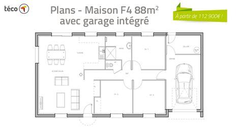 plan d une maison de 100m2