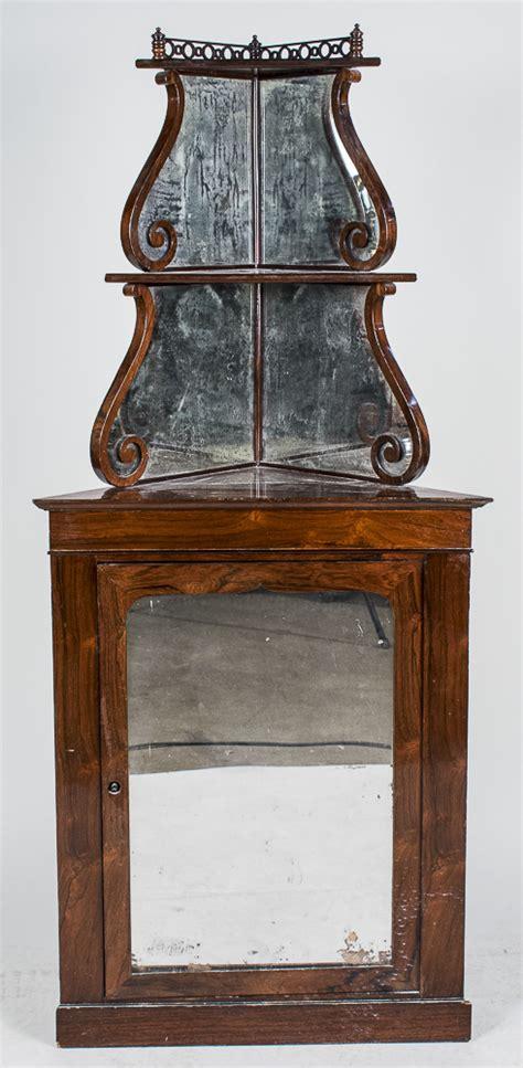 Corner Etagere Cabinet by Rosewood Corner Etagere Cabinet