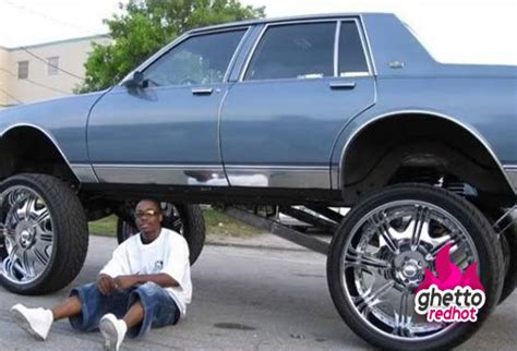 When Your Rims Cost More Than The Car... • Ghetto Red Hot