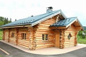 Maison Rondin Bois : chalet construire une maison en rondins de bois ~ Melissatoandfro.com Idées de Décoration