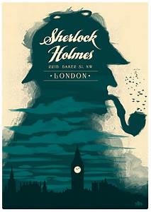 Cool Graphic Design On The Internet Sherlock Holmes