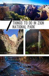 Things to Do Zion National Park Utah