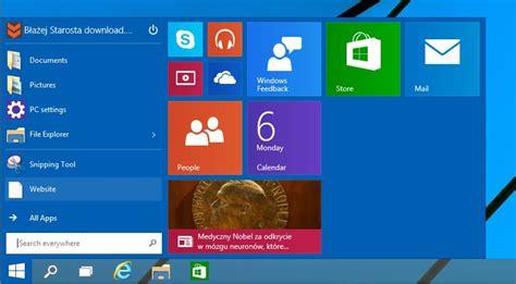 zdjęcia i filmy tag win10 pl zmiana rozmiaru menu start w windows 10