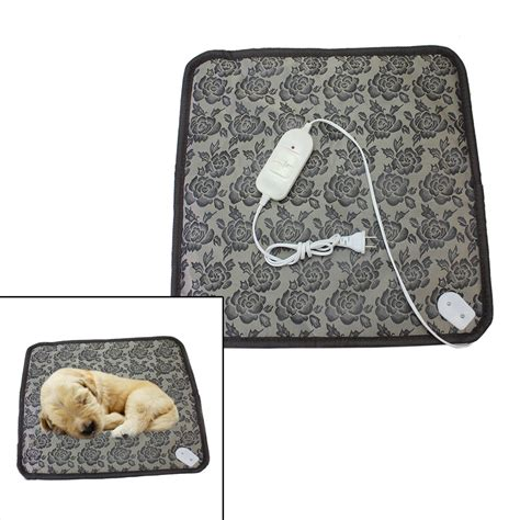 heated pet mat warm pet electric heating pad mat blanket heated bed for