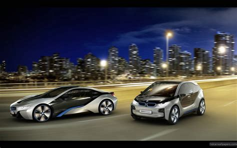 2012 Bmw I8 & I3 Concept Cars 3 Wallpaper