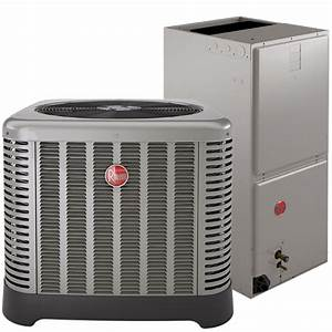 Central Air Conditioning Complete Turn Key System  Rheem