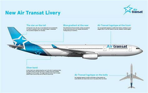 air transat launches new livery the world of aviation