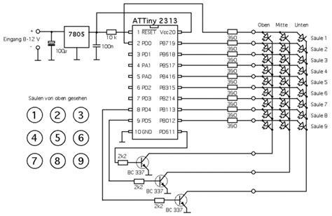 bau eines led cube mikrocontrollernet