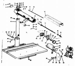 Craftsman Model 11323100 Saw Radial Genuine Parts