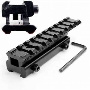 11mm To 20mm Dovetail To Weaver Rail Mount Base Adapter