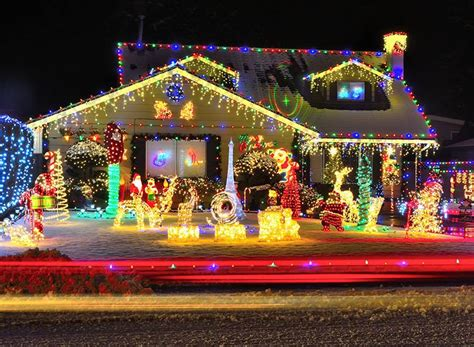 the most incredible christmas light displays around