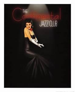 Continental Jazz Club ~ Fine-Art Print - Vintage Music Art ...