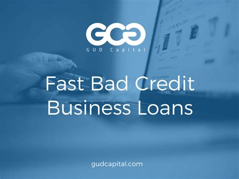 Fast Small Business Funding Options When You Have Bad
