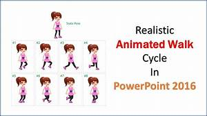 Ms Access Books How To Make Realistic Animated Walk Cycle In Powerpoint