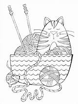 Coloring Yarn Crochet Knit Knitting Pages Books Adult Dream Cat Knitpicks Habit Franklin Visit Through sketch template