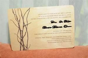 non traditional wedding invitation wording theruntimecom With non traditional wedding invitations