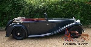 1934 Alvis 1934 Alvis Speed 20 Sb Vanden Plas Drop Head Coup