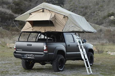 Tacoma Bed Tent by Adventure Series Toyota Tacoma By Xplore Vehicles