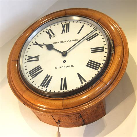 lighted clocks for sale large english dial fusee wall clock for sale fine quality