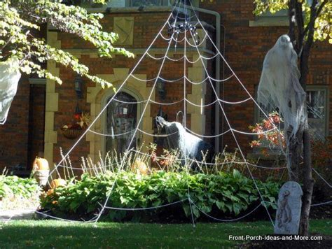 How To Decorate With Spider Web - decorating outdoor ideas outdoor ideas spider