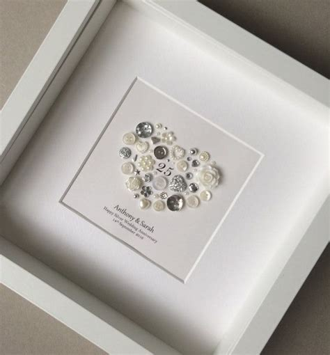 geschenke für silberhochzeit 25th wedding anniversary gift silver anniversary frame wedding ideas geschenke