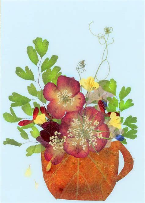 pressed flower ns oshibana 22 꽃 꽃