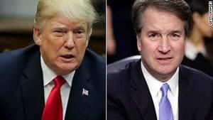 Trump questions why Kavanaugh accuser didn't call the FBI ...